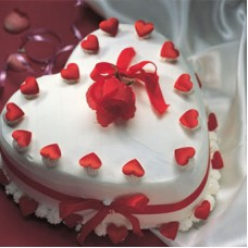 Heart Shape Cake 19