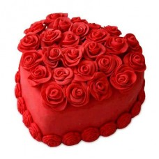 Heart Shape Cake 16