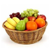 2.5 Kg Fresh Fruit Basket