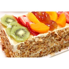 Fresh Fruit Pastry - (Box Of 6 pcs)